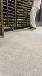 Suelos para cocinas industriales: suelo de panadería